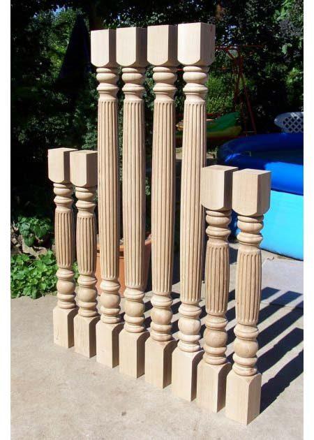 Colonne di legno GS04