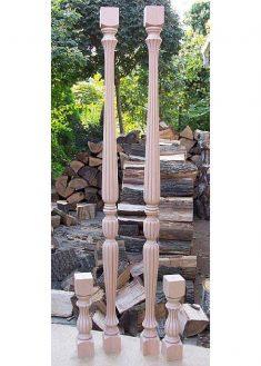 Colonne di legno GS08