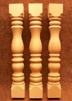 Colonne di legno GS24