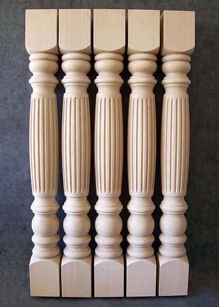 Colonne di legno GS26
