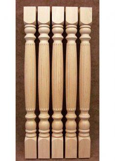 Colonne di legno GS27