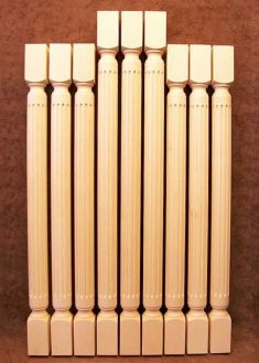 Colonne di legno GS36
