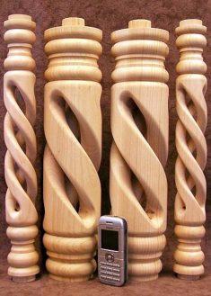 Colonne di legno GS59