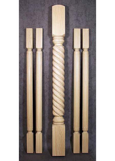 Colonne di legno GS67