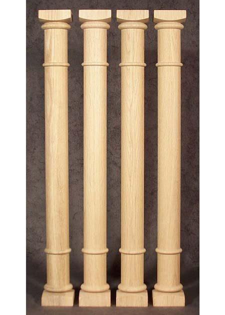 Colonne di legno GS73