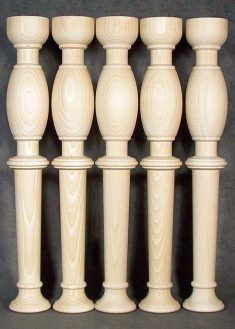 Colonne di legno GS75