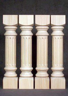 Colonne di legno GS80