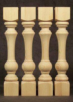 Colonne di legno GS86