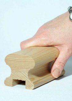 Corrimano in legno HR18