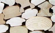 Corrimano in legno-icone