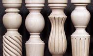 Gambe per tavoli in legno-icone