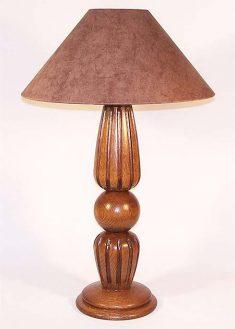 Lampada da tavolo in legno Bologna