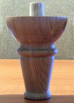 Piedi per mobili in legno GM08