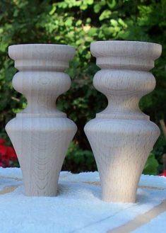 Piedi per mobili in legno GM09