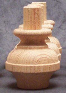 Piedi per mobili in legno GM11