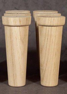 Piedi per mobili in legno GM13