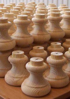 Piedi per mobili in legno GM15