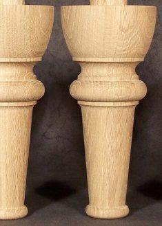 Piedi per mobili in legno