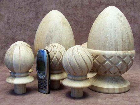 Pigna in legno di quercia CD2203