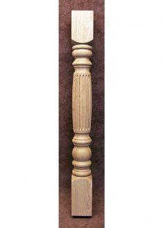 Colonnine in legno per scale B102-90