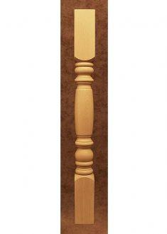 Colonnine in legno per scale B102S