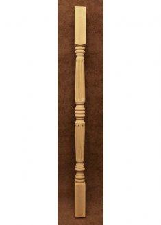 Colonnine in legno per scale B103B