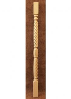 Colonnine in legno per scale B114