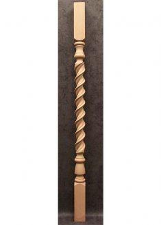Colonnine in legno per scale B115