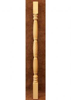 Colonnine in legno per scale B152