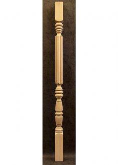 Colonnine in legno per scale B155