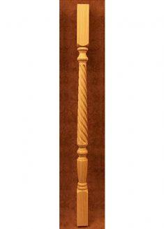 Colonnine in legno per scale B203