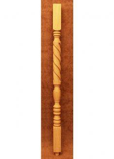 Colonnine in legno per scale B210