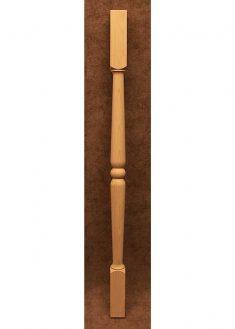 Colonnine in legno per scale B211
