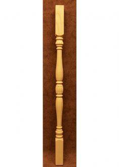 Colonnine in legno per scale B303-M