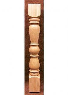 Colonnine in legno per scale KN01