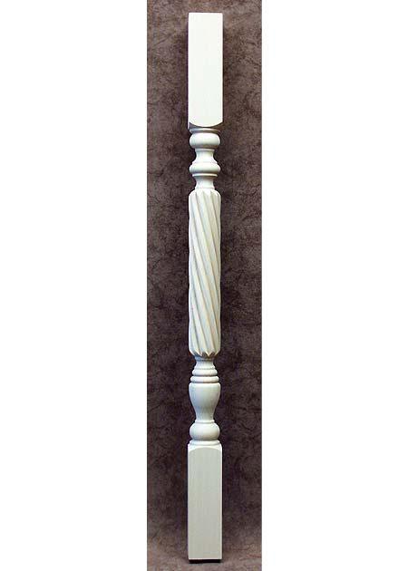 Colonnine in legno per scale ML01