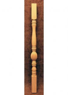 Colonnine in legno per scale SI10