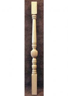 Colonnine in legno per scale SI11