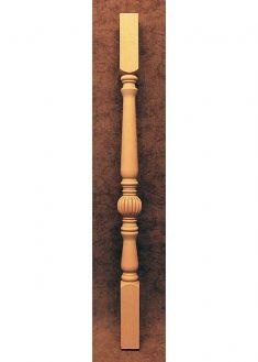 Colonnine in legno per scale SI16