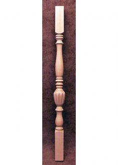 Colonnine in legno per scale SI17